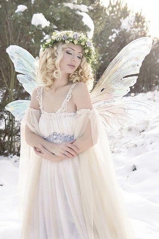 belle femme papillon