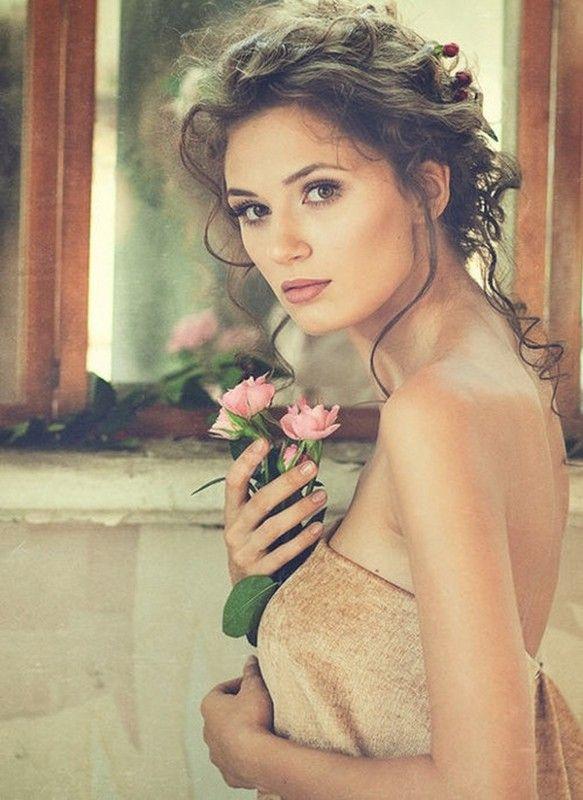 belle femme douceur et romantique