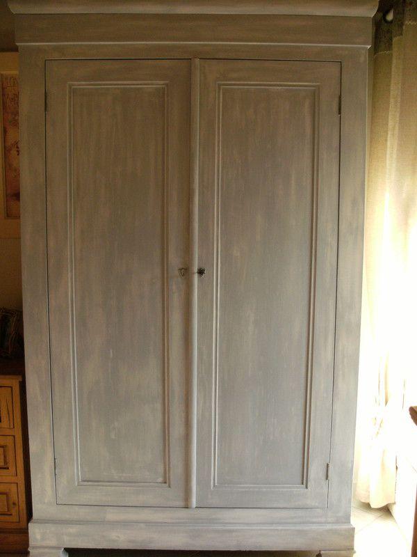 Customiser une armoire ancienne images - Customiser une armoire en bois ...