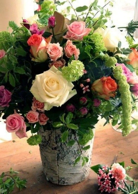 magnifique composition florale