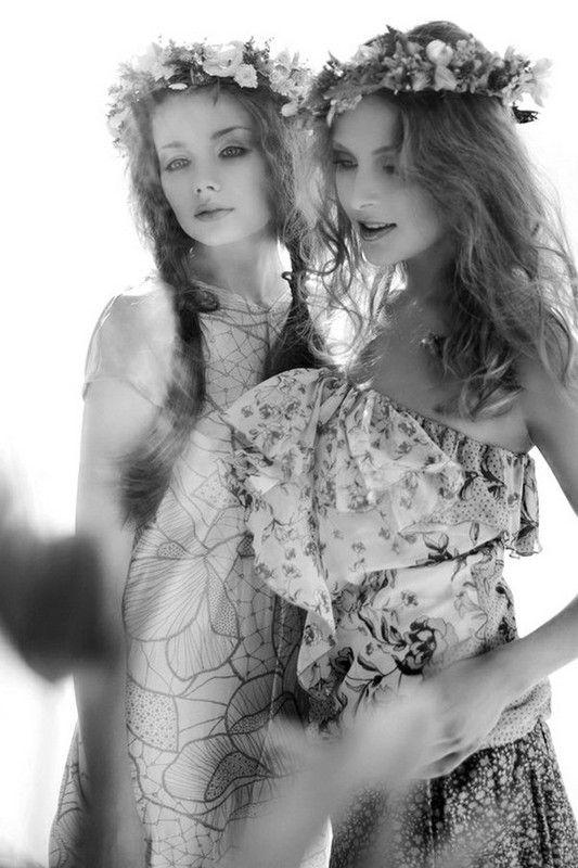 belles filles romantiques