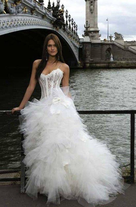 belle robe blanche