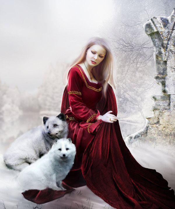 femme loups