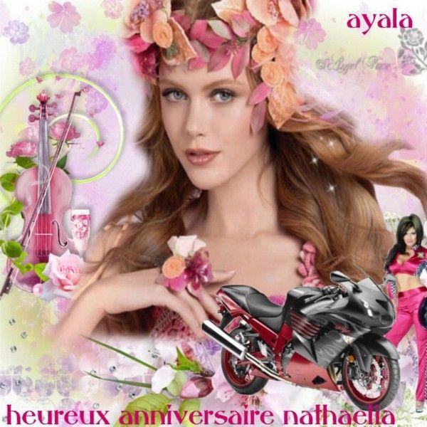 heureux anniversaire ma nathaelia