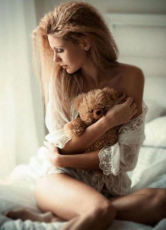 belle femme rêveuse
