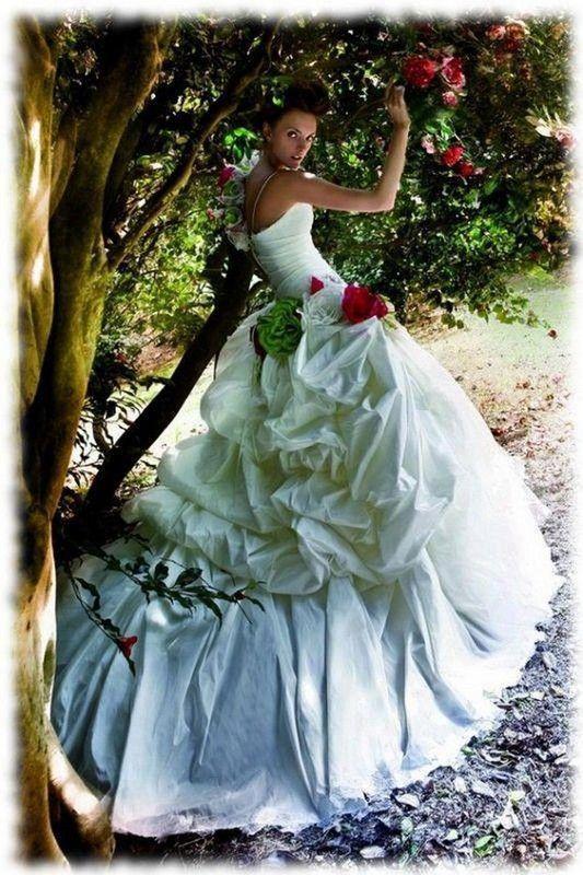 belle robe romantique