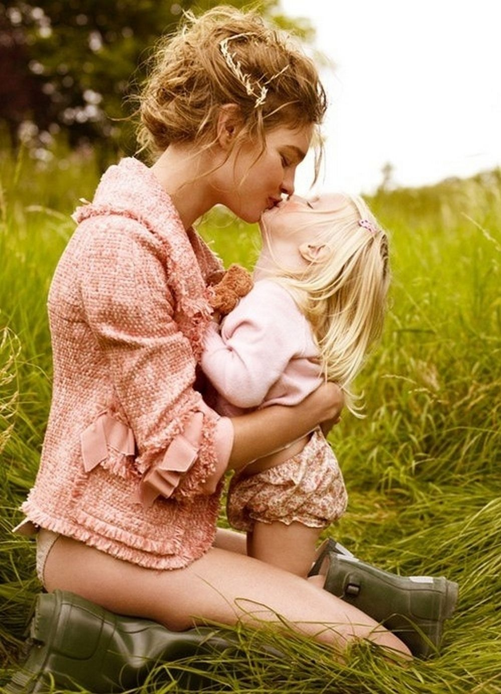 Фото красивых мамочек