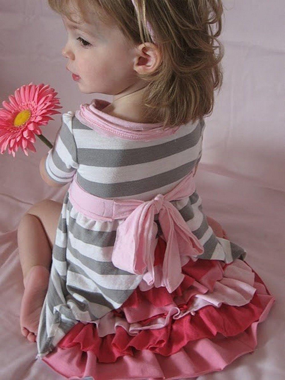 Как сшить платье для девочки своими руками ютуб